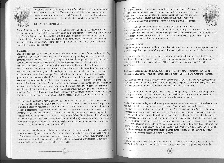 Index of manual SWOS96 97